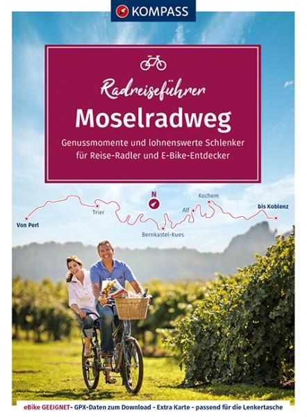 Kompass RadReiseFührer Erlebnis Moselradweg