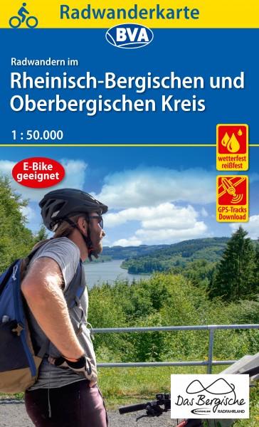 BVA Radwanderkarte Rheinisch-Bergischer Kreis
