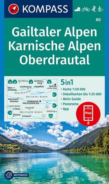 KOMPASS WK Gailtaler Alpen, Karnische Alpen