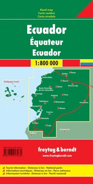 F&B Autokarte Ecuador-Galapag.