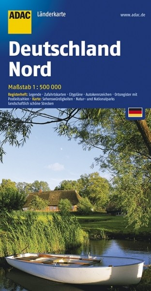 ADAC LK Nord-Deutsch 1:500.000