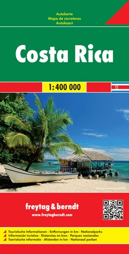 F&B Autokarte Costa Rica