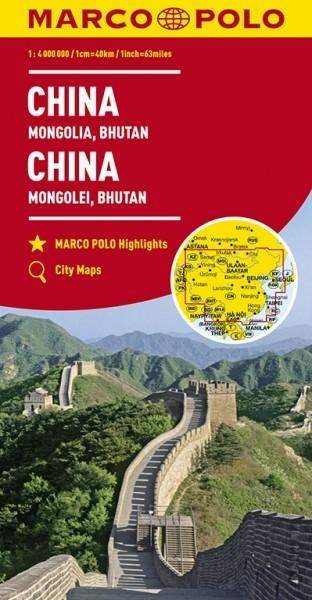 MP KK China/Mongolei/Bhutan