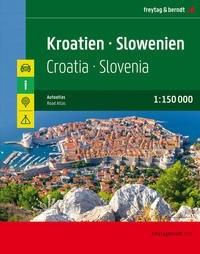 F&B Autoatlas Kroatien - Slowenien
