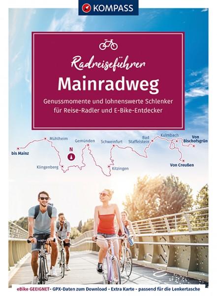 Kompass RadReiseFührer Erlebnis Mainradweg