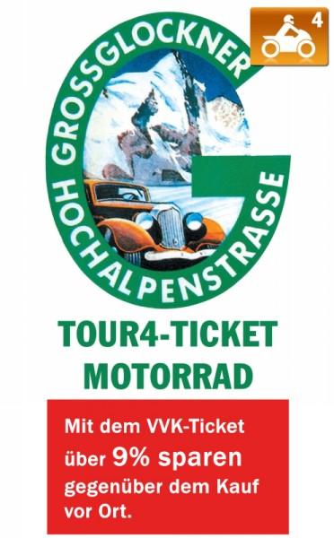 Großglockner Maut-Ticket Motorrad - 4 Touren