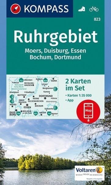 Kompass WK 2er-Set Ruhrgebiet