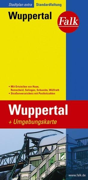 Falk Stadtplan Extra Wuppertal