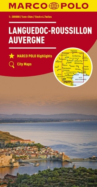 MP Karte Languedoc/Roussillon