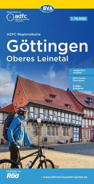 ADFC Regionalkarte Göttingen/Oberes Leinetal