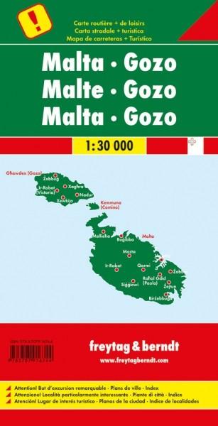 F&B Autokarte Malta & Gozo
