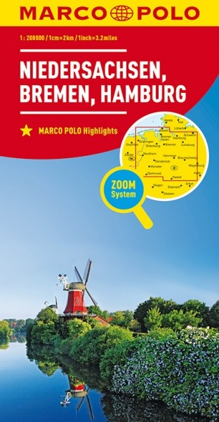 MP Karte Niedersachsen/Bremen