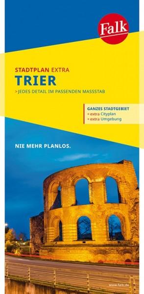 Falk Stadtplan Extra Trier