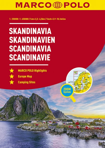 MP Reiseatlas Skandinavien