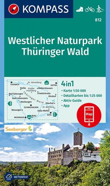 Kompass WK Westlicher Naturpark Thüringer Wald