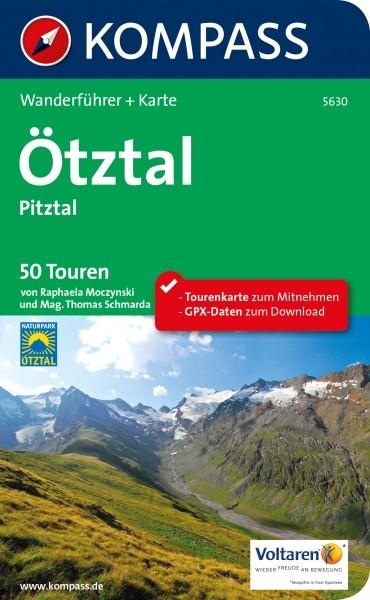 Kompass Wanderführer Ötztal