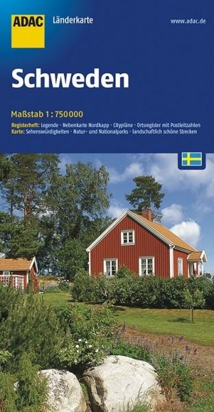 ADAC Länderkarte Schweden