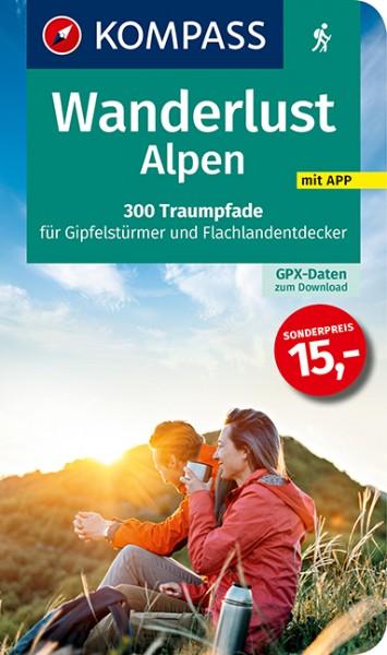 KOMPASS Wanderlust Alpen
