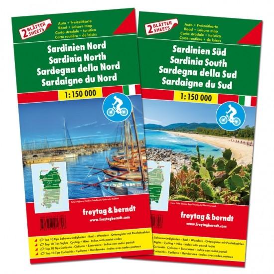 F&B Autokarten Set Sardinien
