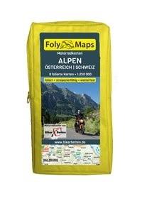 FolyMaps Motorradkarten Alpen Österreich Schweiz