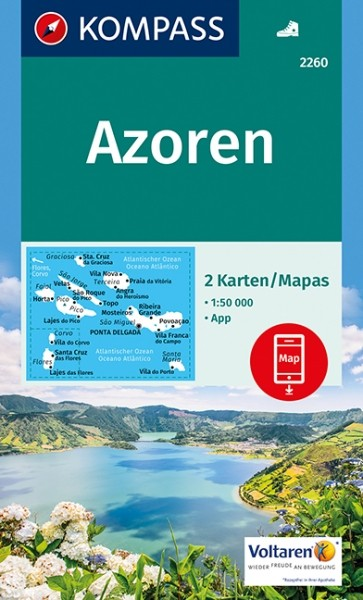 Kompass WK Azoren, 2er Set