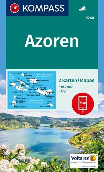 Kompass WK Azoren, 2er Set
