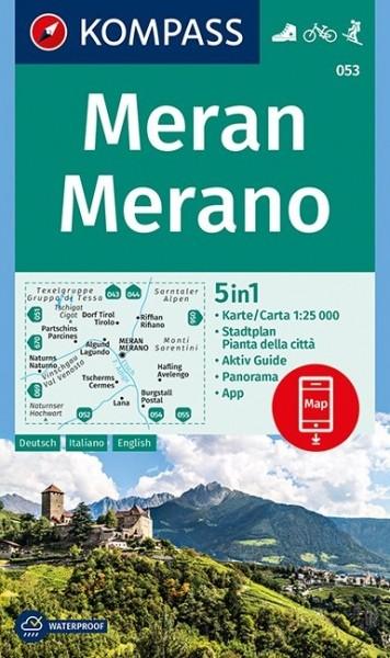 Kompass WK Meran/Merano