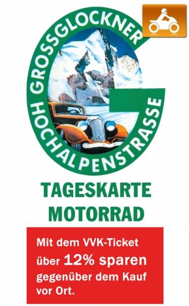 Großglockner Ticket Motorrad - Tageskarte