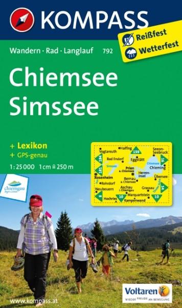 Kompass WK Chiemsee, Simssee