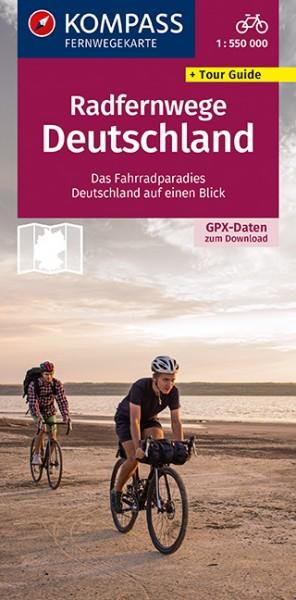 KOMPASS Radfernwege Deutschland