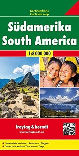 F&B Kontinentkarte Südamerika