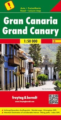 F&B Autokarte Gran Canaria