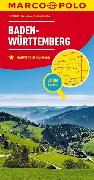 MP Karte Baden-Württemberg