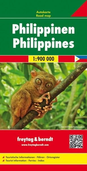 F&B Autokarte Philippinen