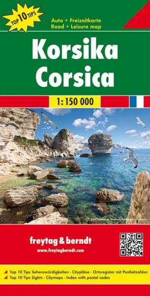 F&B Autokarte & FZK Korsika