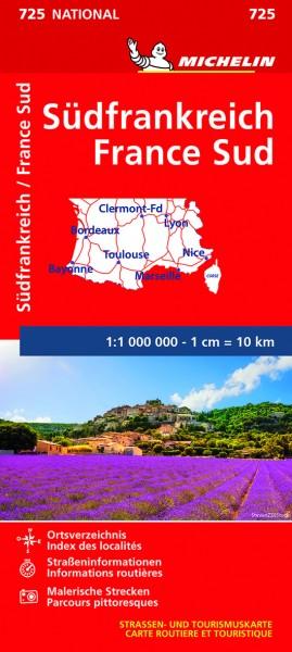 Michelin Frankreich Süd