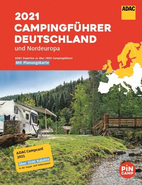 ADAC Campingführer Deutschland/Nordeuropa 2021