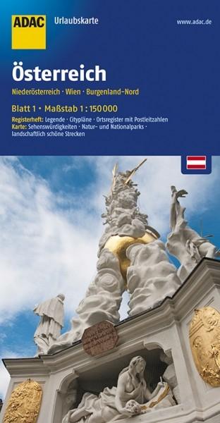 ADAC Urlaubskarte Niederösterreich, Wien