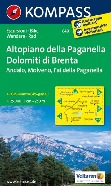 Kompass WK Altopiano della Pa.
