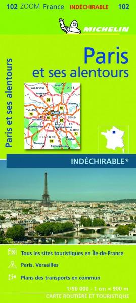 Michelin Paris und Umgebung 2021