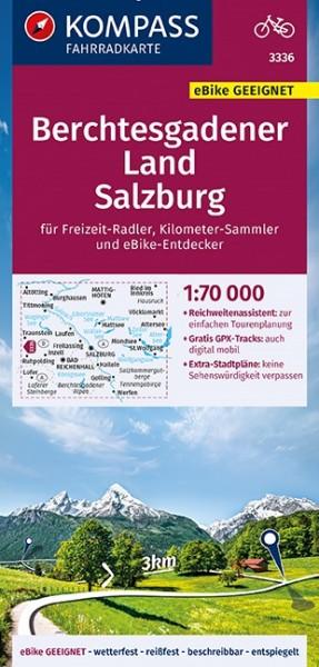 KOMPASS Fahrradkarte Berchtesgadener Land