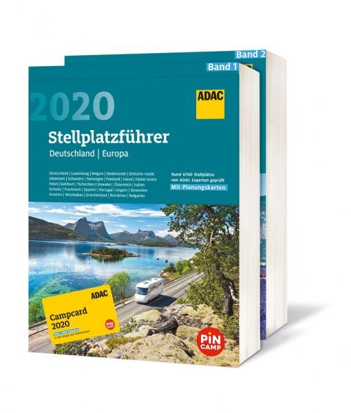 ADAC Stellplatz-Führer D/EU 20