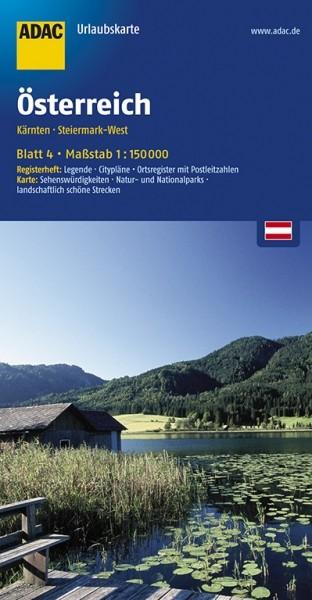 ADAC Urlaubskarte Kärnten, Steiermark West