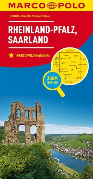 MP Karte Rheinland-Pfalz