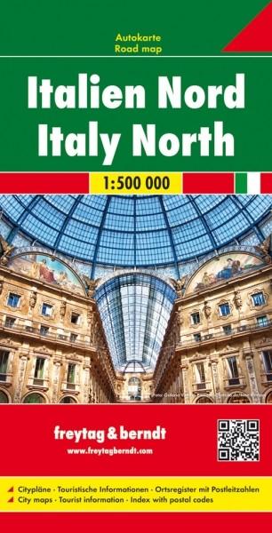 F&B Autokarte Italien Nord