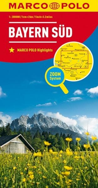 MP Karte Bayern-Süd
