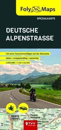 FolyMaps Deutsche Alpenstraße Spezialkarte