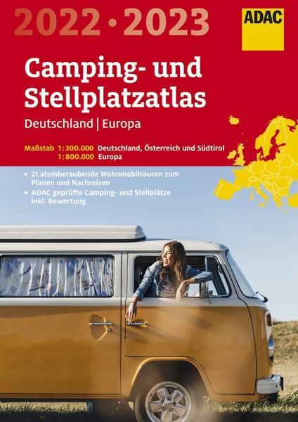 ADAC Camping/Stellplatzatlas D & Europa 2022/2023