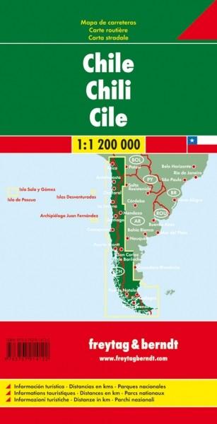 F&B Autokarte Chile