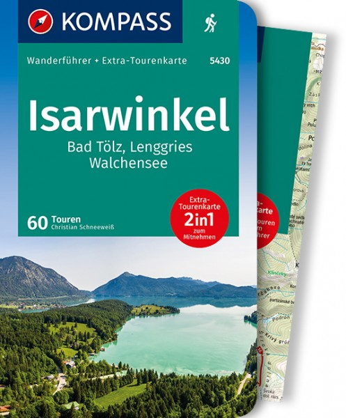 KOMPASS Wanderführer Isarwinkel,Bad Tölz,Lenggries